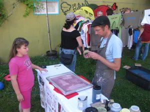 Sommerfest 2011_Atelier Drucksache